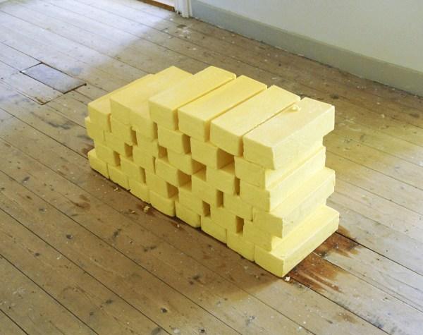 Astrid Mingels - Untitled - 100 kilo boter