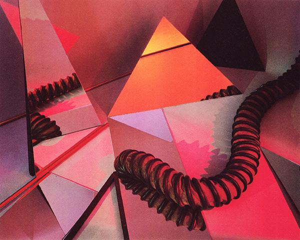 Barbara Kasten - Construct - Polaroid (1982)