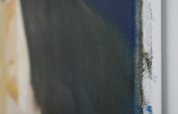 Bas Coenegracht - Mountains - 140x200cm Olieverf en acrylverf op canvas (detail)