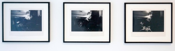 Bas Jan Ader - Study for 'The Artist as Consumer of Extreme Comfort - 3maal 20x25cm Zilvergelatine prints, 1968