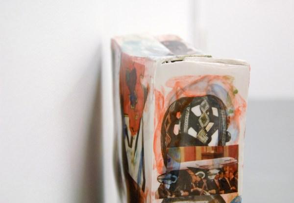 Bastien Adbry & Dimitri Broquard - Cerebral Box nr11 & nr? - Ongeveer 30x20x8cm, Beschilderd geemaileerd porselijn en digitale transferprints (detail)