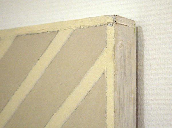 Ben Akkerman - Zonder Titel - Olieverf op doek en houten lijst (detail)