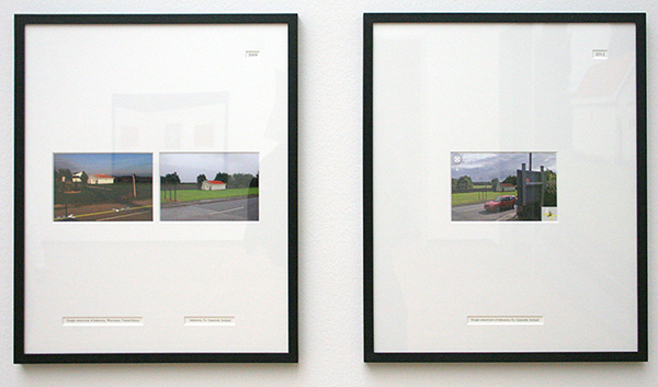 Berndnaut Smilde - Until Askeaton has Streetview - Installatie 2009