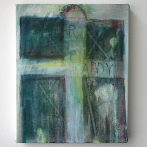Bert Frings - 2007 - 40x50cm Arcylverf op canvas
