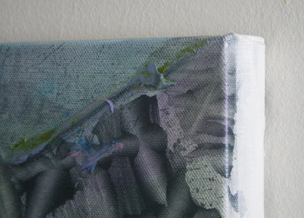 Bert Frings - Hole - 50x70cm Arcylverf op canvas (detail)