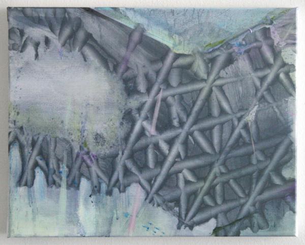 Bert Frings - Hole - 50x70cm Arcylverf op canvas