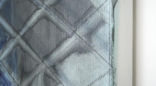 Bert Frings - Letters Schuin - 140x200cm Arcylverf op canvas (detail)
