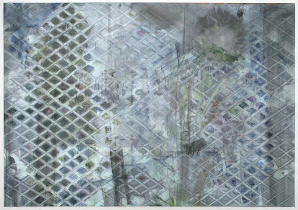 Bert Frings - Letters Schuin - 140x200cm Arcylverf op canvas