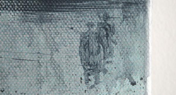 Bert Frings - The Forgotten Painter - 40x50cm Arcylverf op canvas (detail)