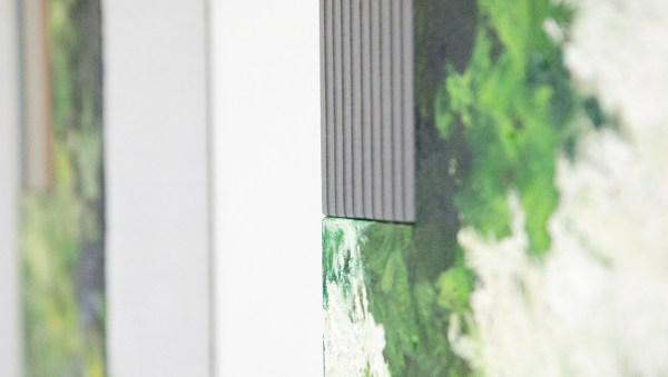 Bert Loerakker - Untitled - 80x60cm Olieverf en alkydverf op linnen op paneel (detail)