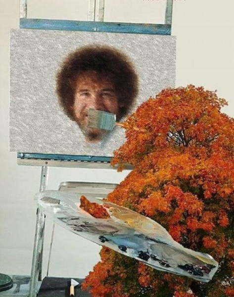 Bob Ross Happy Tree