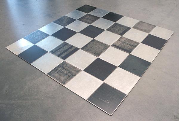 Carl Andre - Steel, Zinc. Plain - Staal- en zinkplaten
