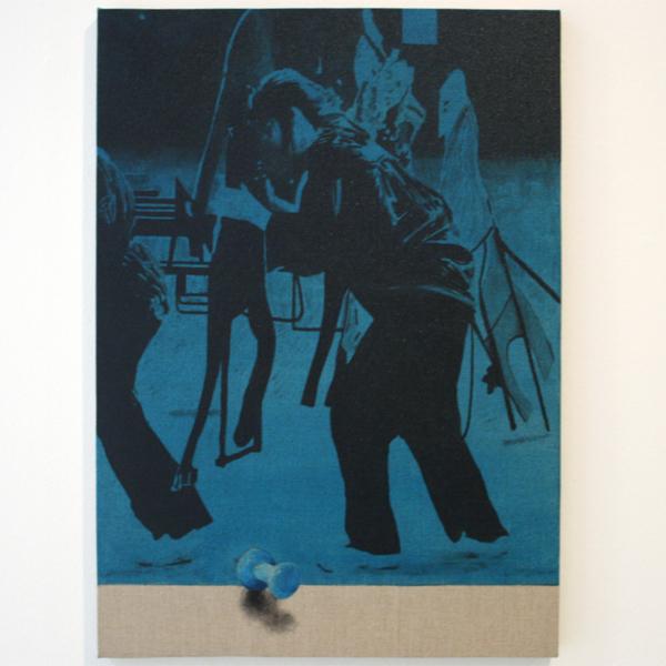 Carl-Johan Högberg - Untitled - 70x50cm Olieverf op canvas