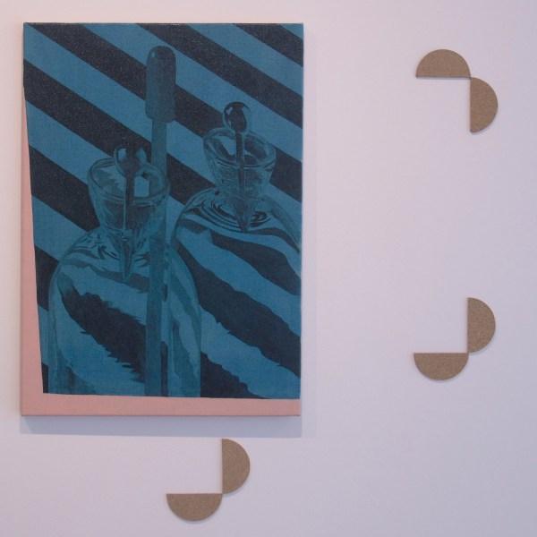 Carl Johan Hogberg - Untitled (Artisanal Stopper 2) - 70x50cm Olieverf op canvas