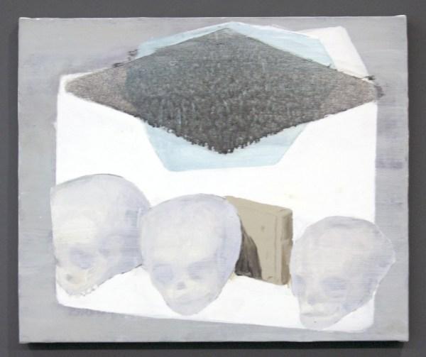 Ciaran Murphy - Arrangement in D - 50x60cm Olieverf op canvas