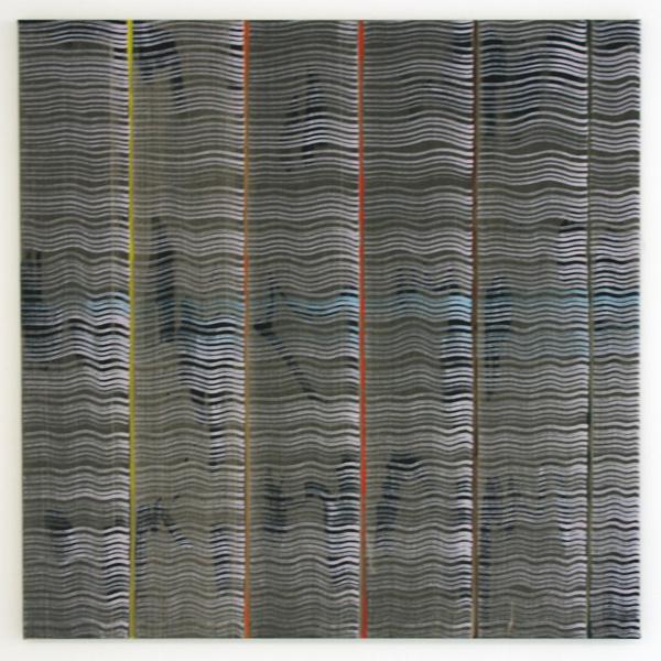 Cornelius Quabeck - TBN - 110x110cm Acrylverf op canvas