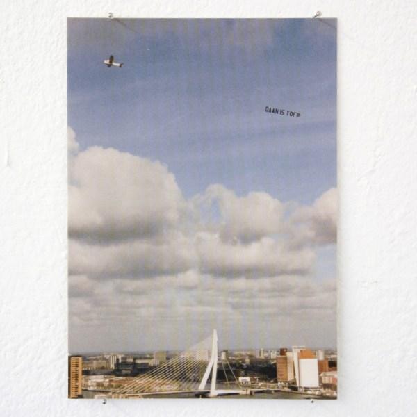 Daan den Houter - Daan is Tof, Vliegtuig - 10x15cm Postkaart