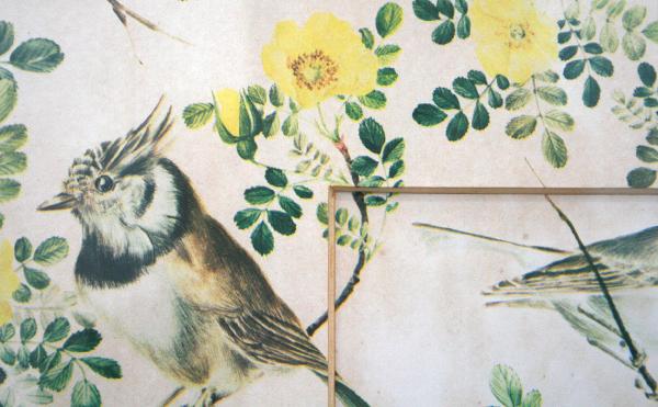 Daan van Golden - Collage met Passepartout - 50x50cm Geprint papier (detail)
