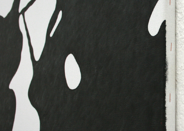 Daan van Golden - Study Pollock - 105x105cm Olieverf op canvas (detail)
