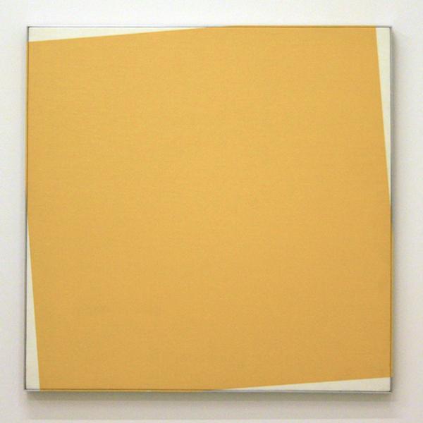 Daan van Golden - Zonder Titel - Lakverf op doek op ingelijst paneel