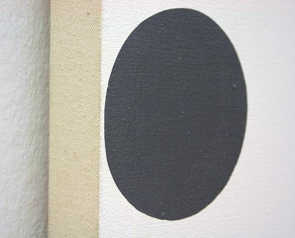 Damien Hirst - Cyclohexane - 152x152cm Huishoudverf (acrylverf?) (detail)