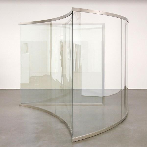 Dan Graham - Pavilion - Doorkijk-spiegelglas en staal