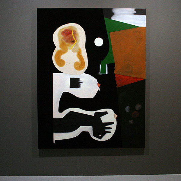Dave McDermott - Sesso con la Bionda Atrice Grasso - 198x152cm Wol, olieverf, was en canvas op paneel