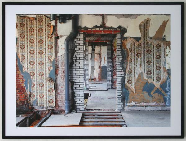 David Adams - Justus van Effenblok restauratie - 90x120cm Pigment print op aluminium