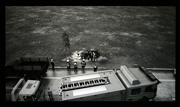 David Claerbout - Highway Wreck - 35,04minuten Single Channel video projectie