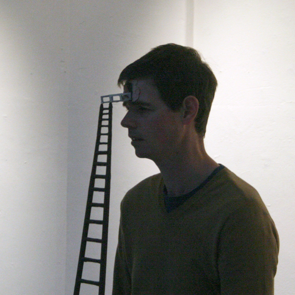 David Sherry - One In All In All In One In - Performance met ladder