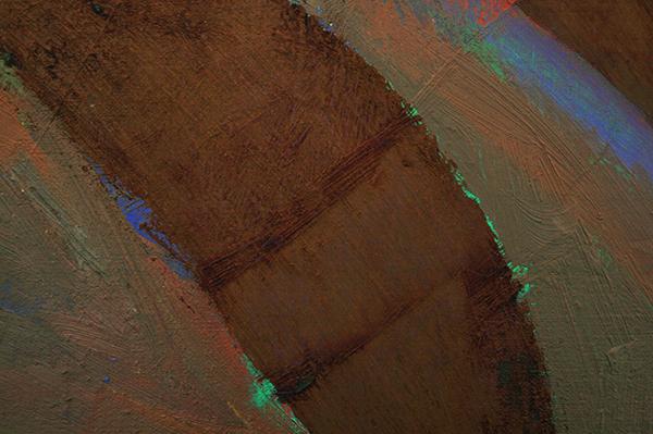 Derk Thijs - Close Up - 150x190cm Olieverf op linnen (detail)