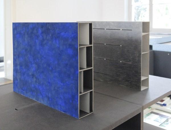 Dirk Jan Postel - Transparances 1 (Bleu) & 2 (Gris)