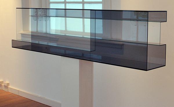 Egied Simons - Beam IV - 120x40x25cm Glas