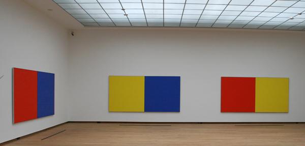 Ellsworth Kelly - Serie van vijf schilderijen - Olieverf op doek