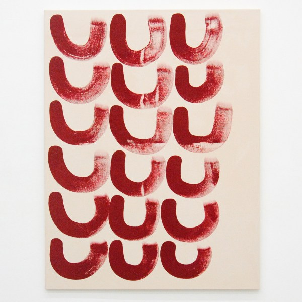 Elvire Bonduelle - Rotating Painting nr 18 - 116x89cm Verf op canvas