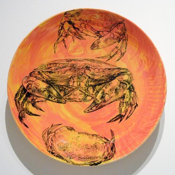 Erik Andriesse - Bord - Geglazuurd steengoed, 1992