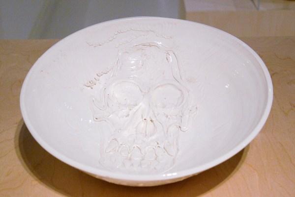 Erik Andriesse - Schaal - Geglazuurd steengoed, 1992