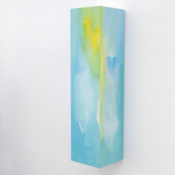 Esther Tielemans - Pedestal painting - 80x20x20cm Acrylverf op multiplex