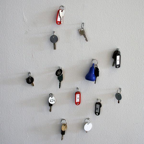 Eva Pel - Untitled (Collection of Keys of Dutch Museum Lockers)