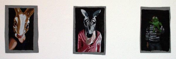 Evelien Gudden - Zonder TItel - Olieverf op canvas