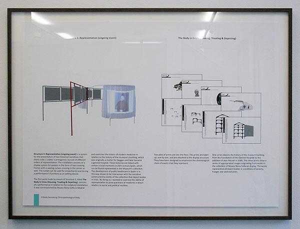 Falke Pisano - Prison Work (From the Serie The Body in Crisis) - Installatie