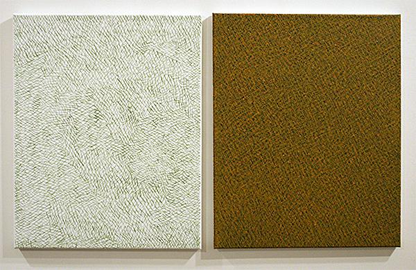 Fatima Barznge - Untitled- 50x40cm Acryl op canvas