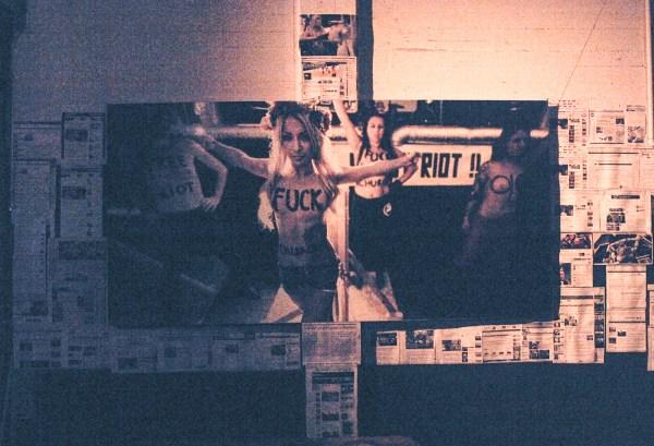 Femen - Pussy Riot Tribute