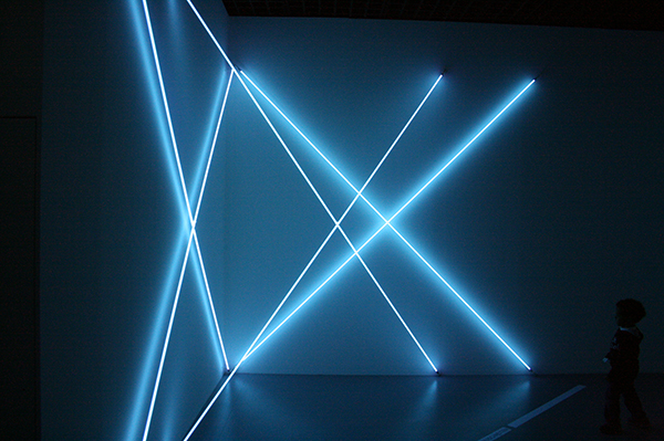 Francois Morellet - Triple X Neonly - Neon
