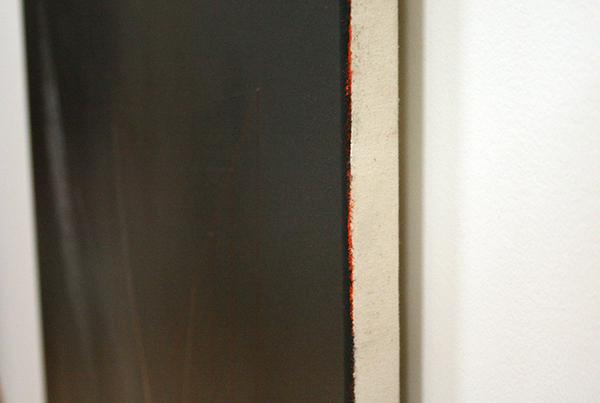 Frank Ammerlaan - Zonder Titel - Olieverf en draad op doek (detail)