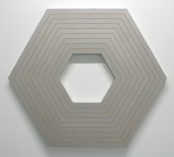 Frank Stella - Sidney Guberman - Metaalverf op doek
