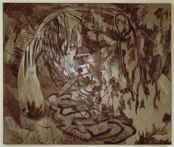 Frank van Hemert - Schilderij 31, Zonder Titel - Olieverf (?) op linnen
