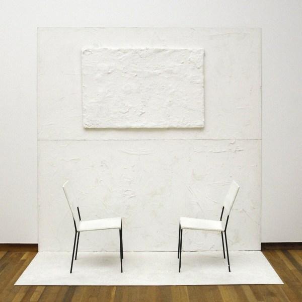 Franz West - Panta Rhei - Metaal, papier, lakwerk en hout, 1996