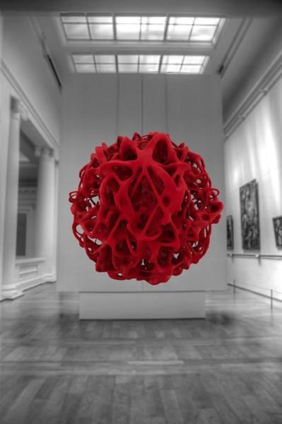 Frederik van Schagen – 3D Drawing – 40x60cm Foto, 2014