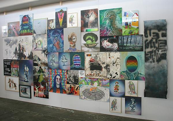 Galerie Jaap Sleper - Salon presentatie met oa Hidde van Schie